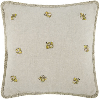 Joanna Buchanan Embroidered Bee Cushion