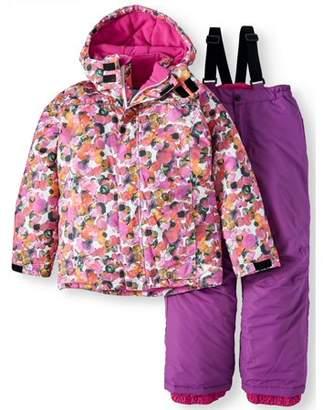 Iceburg Insulated Jacket And Snow Pant, 2-Piece Set (Big Girls)