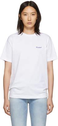 Études White Small Wonder Logo T-Shirt