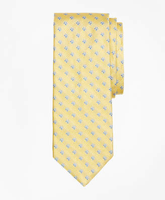 Brooks Brothers Textured Stripe Flower Tie