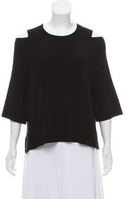Soyer Cold-Shoulder Knit Top