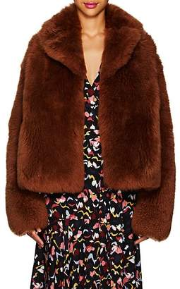 A.L.C. Women's Dean Lamb Shearling Coat - Rust