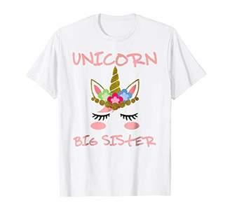 Funny Unicorn Big Sister Shirt