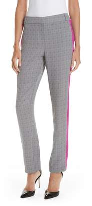 Jason Wu GREY Side Stripe Check Silk Pants