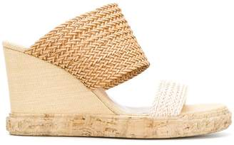 Casadei open-toe wedge sandals