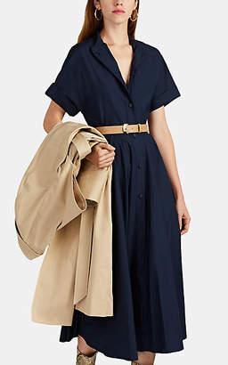 Martin Grant Women's Cotton Poplin A-Line Dress - Navy