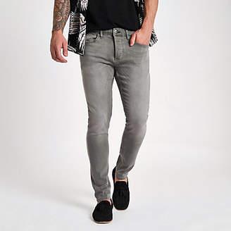 River Island Grey wash Sid skinny jeans
