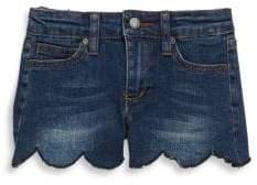 Joe's Jeans Little Girl's Mid-Rise Denim Shorts
