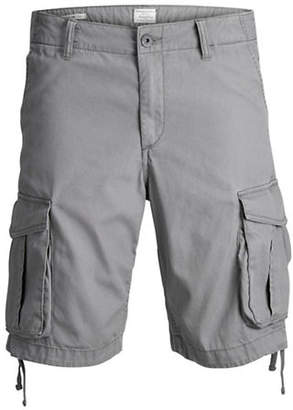 Jack and Jones Cotton Cargo Shorts