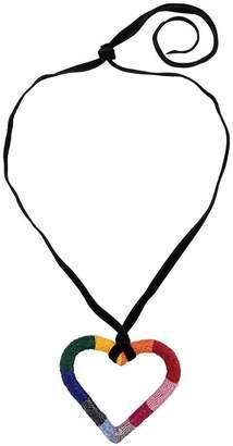 Carolina Herrera beaded heart necklace