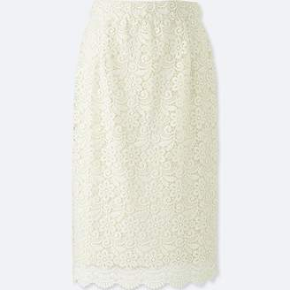 Uniqlo Women's Lace Skirt (online Exclusive)