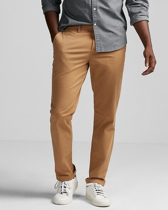 Express Slim Garment Dyed Stretch Chino