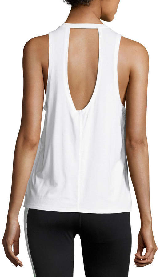 Alala Keyhole-Back Athletic Muscle Tank Tee