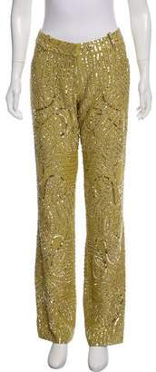 Christian Dior Embellished Mid-Rise Pants