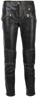 RED Valentino distressed trousers