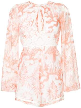 Alice McCall Where We Go Playsuit