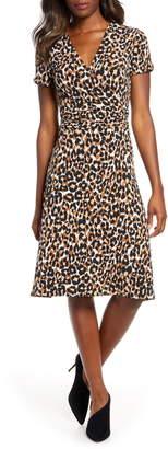 Leota Amiya Faux Wrap Dress