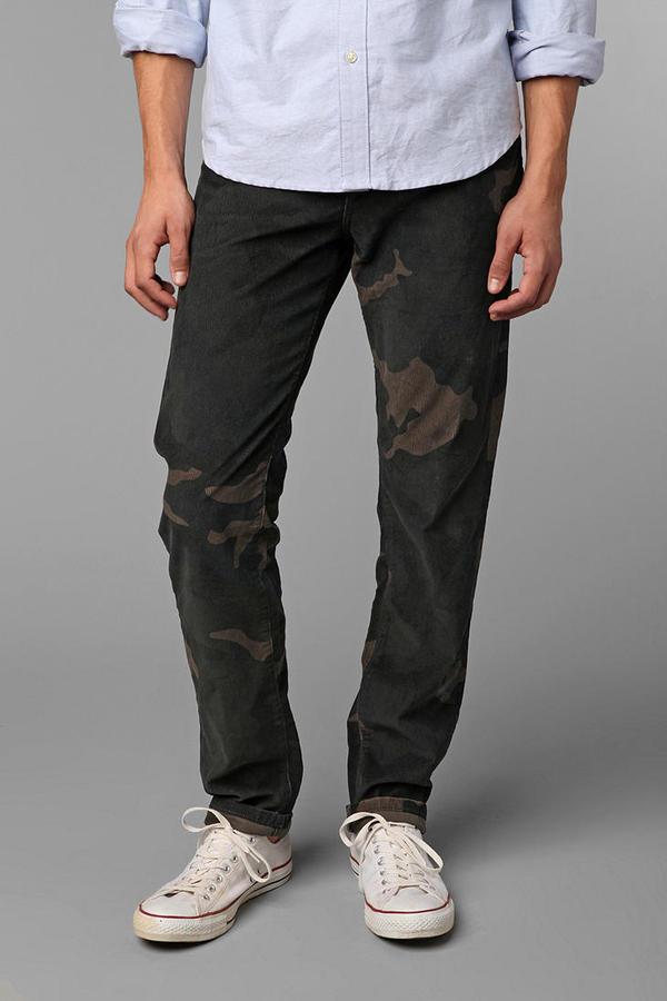 Camo Standard Cloth 5-Pocket Corduroy Pant