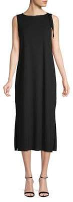 Eileen Fisher Boatneck Midi Dress