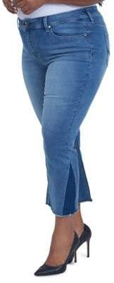 Melissa McCarthy Plus Shadow Ankle Jeans