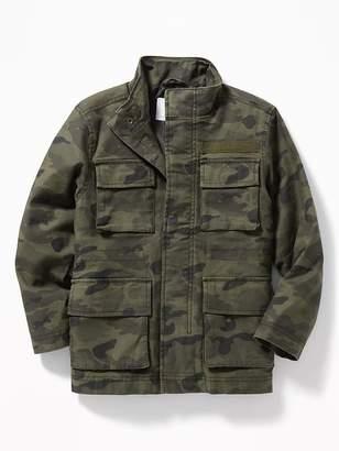 Old Navy Built-In Flex Twill Field Jacket for Boys