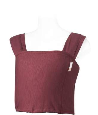 Caboo Winter Spice Oganic Multi-Position Front Baby Carrier/ Sling for Newborn (Red)