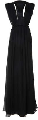 Alberta Ferretti Silk Chiffon Sleeveless Gown