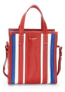 Balenciaga Extra Small Bazar Stripe Shopper