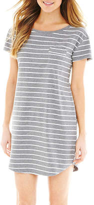 Liz Claiborne Short-Sleeve Nightshirt