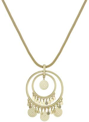 Butterfly by Matthew Williamson Butterfly - Matthew Williamson Filigree Coin Long Necklace