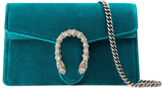 Dionysus velvet super mini bag $790 thestylecure.com