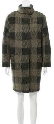 Rag & Bone Wool-Blend Plaid Jacket