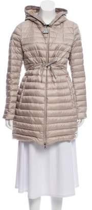 Moncler Barbel Hooded Puffer Coat