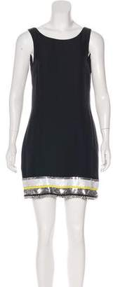 Sass & Bide Embellished Sequin Mini Dress
