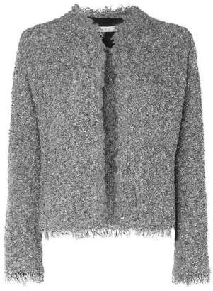 IRO Shavani Frayed Cotton-blend Bouclé Jacket