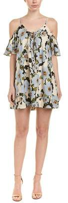 J.o.a. Floral Shift Dress