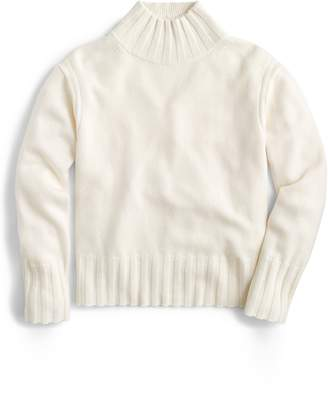 J.Crew Relaxed Mock Neck Cashmere Sweater