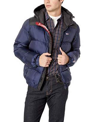 Tommy Hilfiger Tommy Jeans Men's Puffer Jacket with Down Fill Classics Collection