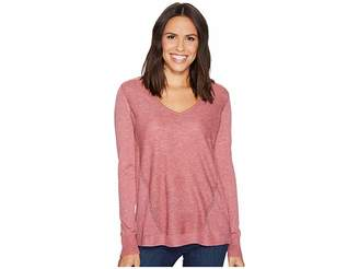 NYDJ Double V-Neck Sweater Women's Sweater
