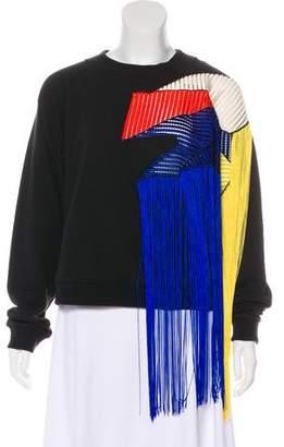 Christopher Kane 2016 Fringe Sweater
