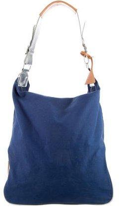 Raf SimonsRaf Simons Metallic-Trimmed Shoulder Bag