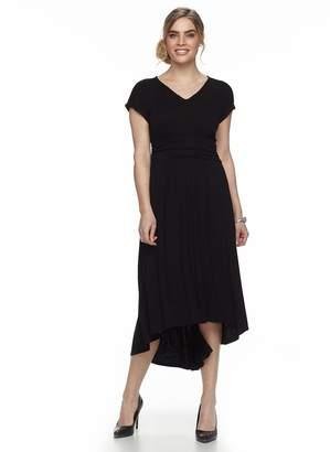Apt. 9 Petite Lace High-Low Maxi Dress
