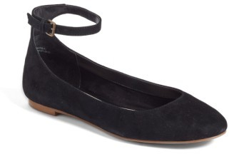 Women's Treasure & Bond Jules Ankle Strap Ballet Flat $69.95 thestylecure.com