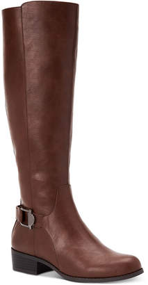 Alfani Women's Step 'N Flex Kallumm Wide-Calf Boots, Created for Macy's