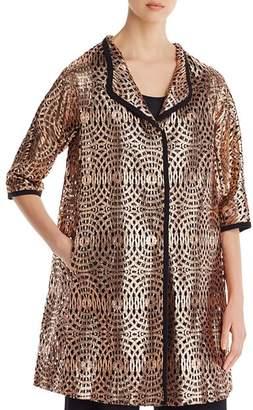 Herno Metallic Lace Jacket