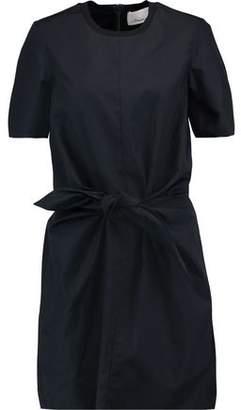 3.1 Phillip Lim Knotted Cotton-Poplin Mini Dress