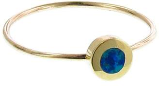 Jennifer Meyer Opal Inlay Circle Ring