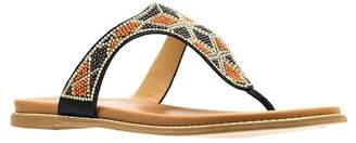 Good Choice New York Dayna Beaded Flat Sandal