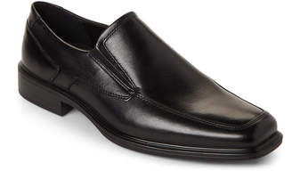 Ecco Black Minneapolis Apron Toe Slip-On Shoes