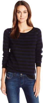 Scotch & Soda Maison Scotch Women's Pullover W Buttons At the Shoulder